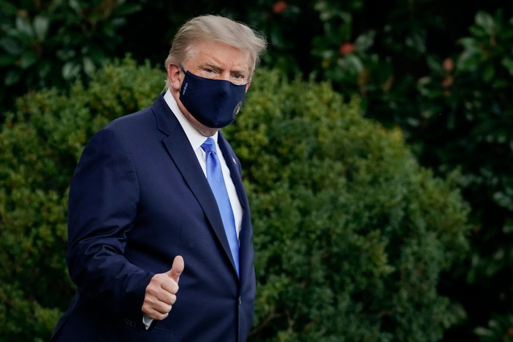 The hypocrisy of Trump using medical science